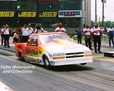 STEVEN FARR 2000 CHEVY S-10 NHRA PRO STOCK TRUCK 8X10 PHOTO COLUMBUS OHIO