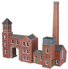 Metcalfe PO284 Factory Entrance & Boilerhouse (00) Railway Model Kit