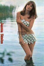 JOANNA SHIMKUS sexy/ RAYMOND LOVELOCK 1972 Japan Picture Clipping 8x11.6 #SC/u