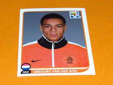 341 VAN DER WIEL NEDERLAND KNVB PANINI FOOTBALL FIFA WORLD CUP 2010