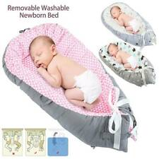 Baby Nest Cot Crib Bed Sleeper Mattress Newborn Cushion Breathable Portable AU