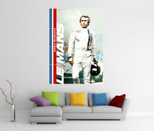 STEVE MCQUEEN LE MANS GIANT WALL ART POSTER PRINT PICTURE PHOTO POSTER