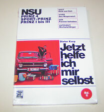 Manuel de Réparation NSU Prinz 4 / NSU Prinz I Jusqu'à III / NSU Sport-Prinz