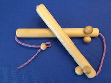 Reflexology Massage Sticks Chinese Or Thai?? PRISTINE CONDITION