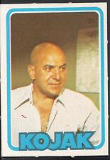 Monty Gum Card - 1975 - TV Cop Series Kojak - Telly Savalas - Card No 21