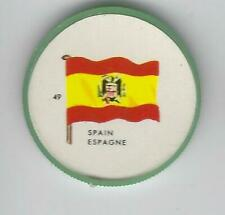 1963 General Mills Flags of the World Premium Coins #49 Spain