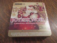 coffret 3 cd joyeux noel! chansons, musiques et contes les plus grands airs de