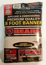 Chicago Bears 8' x 2' Large Durable NFL Football Banner by Party Animal