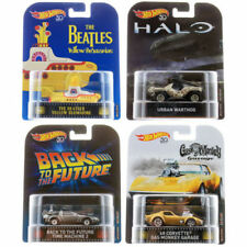 HOT WHEELS 50th ANNNISARY 2018 RETRO ENTERTAINMENT FAVORITES FACTORY CASE REL G