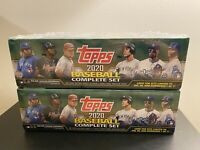 TOPPS 2020 MLB Baseball Complete Set 700 Cards Series 1 & 2 New | Factory Sealed