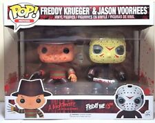 Funko Pop Freddy Krueger and Jason Voorhees 2 Pack Bloody Vinyl Figure Brand New
