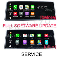 BMW EVO FULL software update / flashing service, Carplay fullscreen support