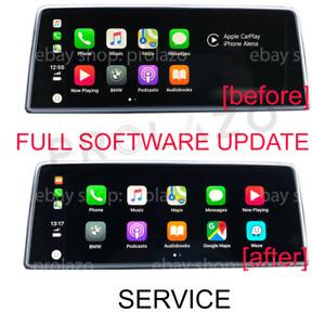 BMW EVO FULL software update / flashing service, Carplay fullscreen support