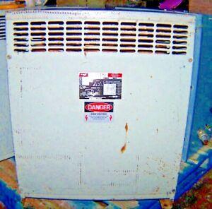 FPE 30 KVA TRANSFORMER 120/240 LV 480 HV FEDERAL PACIFIC 30 KVA  FPE 36B 50362-L