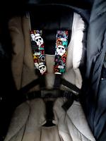 Baby Child Seat Belt Strap Covers Pram Stroller Car Seat Baby Capsule- Star Wars