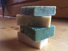4 Pack Natural Handmade Soap Cold Press Method Essential Oil Soap Bars