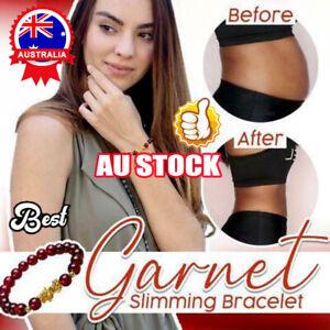NEW AU Garnet Slimming Bracelet Red Garnet Gems Hand Chains ZV