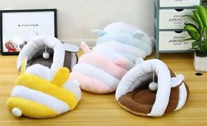 Soft Puppy Nest Cave Winter Warm Cat Sleeping Bag Dog House Pet Bed Kennel