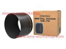 CONTAX GB-75 Lens Hood Zeiss Makro Sonnar 100/2.8 Vario Sonnar 70-300/4-5.6 Box