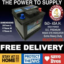 RENAULT SCENIC 1.6 CAR BATTERY 063 12V HEAVY DUTY MAINTENANCE FREE hb063 ln063