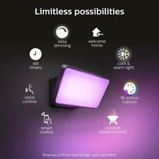 Philips Hue Discover White & Colour Ambiance Outdoor Wall Light Floodlight