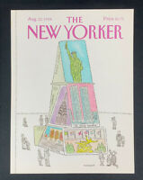 COVER ONLY ~ The New Yorker Magazine, August 22, 1988 ~ Richard Mankoff