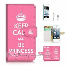( For iPod 6 / itouch 6 ) Flip Case Cover! P1449 Keep Calm Princess