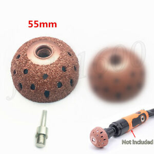Tungsten Steel Buffing Wheel Coarse Grinding Ball Tar Tire Polish Tool Auto 55mm