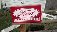 FORD TRACTORS LIGHTED ADVERTISEMENT SIGN
