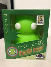 SDCC BOB'S BURGERS KUCHI KOPI GLOW IN THE DARK EXCLUSIVE VINYL FIGURE IN HAND