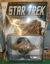 STAR TREK STARSHIPS FIGURE COLLECTION #113 Lokirrim Warship EAGLEMOSS