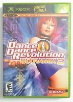 💃 Dance Revolution Ultramix 2 Microsoft Xbox 📀