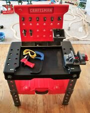 Kids Craftsman Work Bench with tools and vise