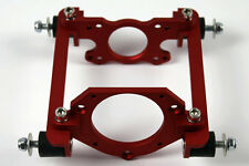 CNC Machined Quick Release ENGINE MOUNT ZENOAH QD RCMK RC Model Boat Gas red