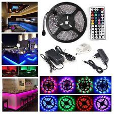 1m-30m LED 5050 3528 RGB Streifen Strip Band Leiste Lichtleiste Controller Trafo