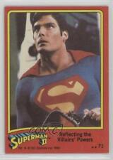 1980 Topps Superman II #71 Reflecting the Villains' Powers Non-Sports Card 2c0