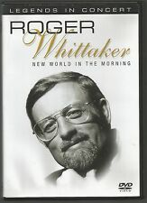 ROGER WHITTAKER - LEGENDS IN CONCERT - UK DVD - vgc