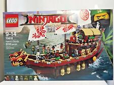 LEGO Ninjago Movie Destiny's Bounty 70618 (2295 Piece) Ship Boat NIOB