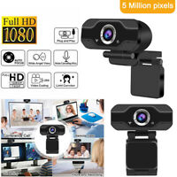 1080P Full HD USB Webcam for PC Desktop & Laptop Web Camera with Microphone gv