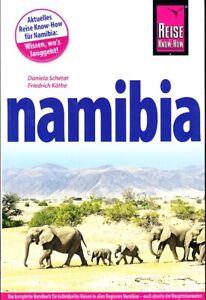 REISEFÜHRER NAMIBIA 2016/17, Reise Know How, 672 SEITEN, wie neu, ungelesen