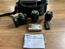 Nikon D50 6.1 MP Digital SLR Camera - Black With Bag, Two Lens, And Extras!