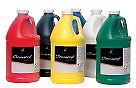 Paint Chromacryl Student 1/2 Gallon Set Warm Set Of 6