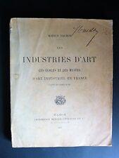 VACHON Industries d'ART Départements ARTS DECORATIFS ARTISANAT REGIONS RARE 1897