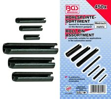 BGS technic 8054 Hohlsplinte-/Federstifte-Sortiment, 450-tlg., metrisch