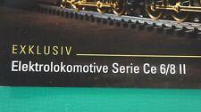 160 Märklin LEGENDE in GOLD Exklusive Elektrolokomotive Serie Ce 6/8 II  B-14977