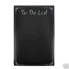 Per fare lista Lavagna Muro Adesivo Autoadesivo Gesso Memo Board Nero Planner