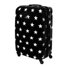 Maletas y equipaje negro rígido