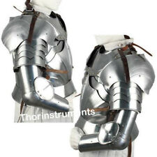 Medieval Complete Pauldron Knight Arms Armor Set