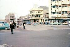 Photo. 1960-1. Kuwait. Street - autos