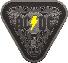 2018 $5 PROOF AC⚡DC 45 YEARS OF THUNDER⚡️GUITAR PICK⚡️SOLD OUT⚡️